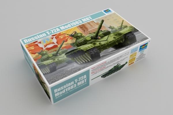 Trumpeter 09547 Russian T-72A MBT Mod 1983 - 1:35