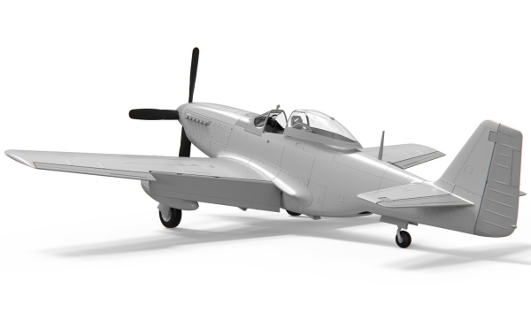 Airfix A05138 North American P51D Mustang (Filletless Tails) - 1:48