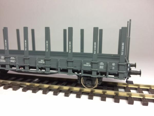 Wagon platforma Pdk 31 PKP 0 638 951, Ep. IIIb