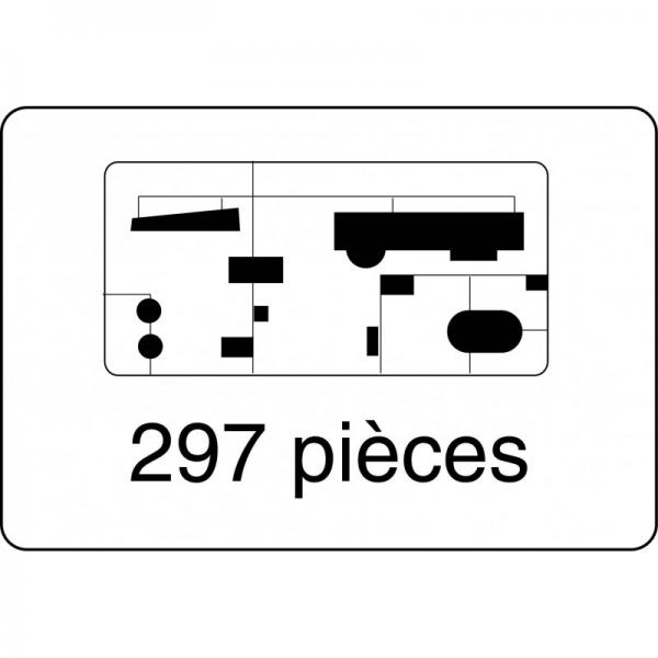 Heller 81080 Pancernik Gneisenau - 1:400
