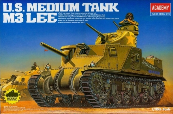 Academy 13206 M3 Lee U.S.Medium Tank, 1:35