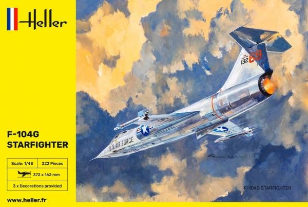 Heller 30520 F-104G Starfighter - 1:48