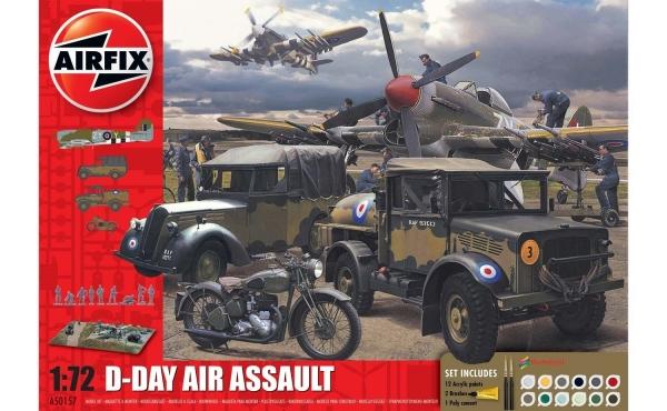 Airfix A50157A Gift Set - D-Day 75th Anniversary Air Assault - 1:72