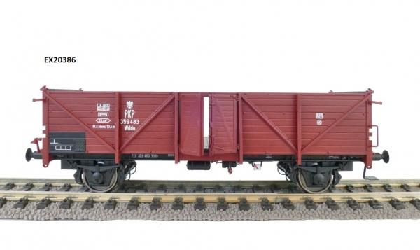 Exact-Train EX20386 Węglarka ex Klagenfurt Wddo z drewnianymi drzwiami i zastrzałami, PKP, ep. III
