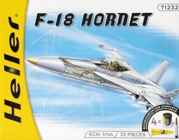 Heller 49905 Starter Set - McDonnell Douglas F/A-18 Hornet - 1:144
