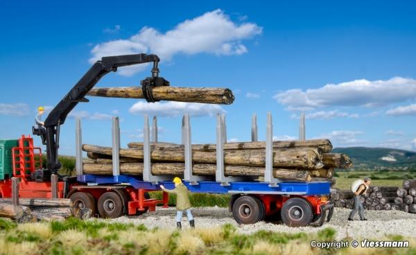 Kibri 12250 H0 Naczepa dłużyca DOLL do drewna