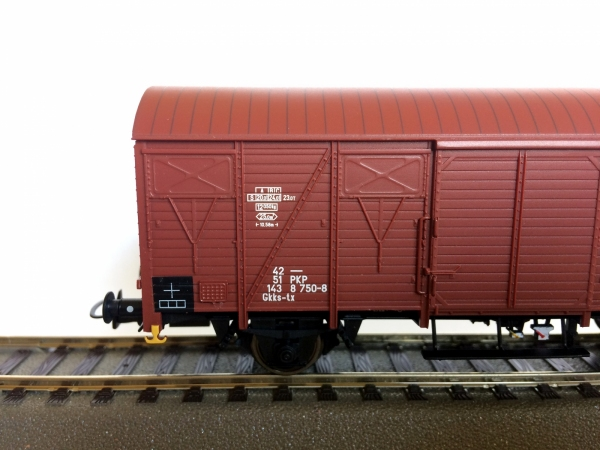 Rivarossi HRS6438 Wagon towarowy typ 223K/1, Gkks-tx 42 51 143 8 750-8 PKP, Ep. IVc-Va
