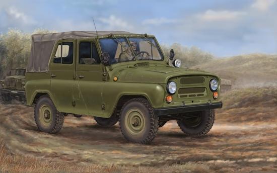 Trumpeter 02327 Samochód terenowy UAZ-469 - 1:35