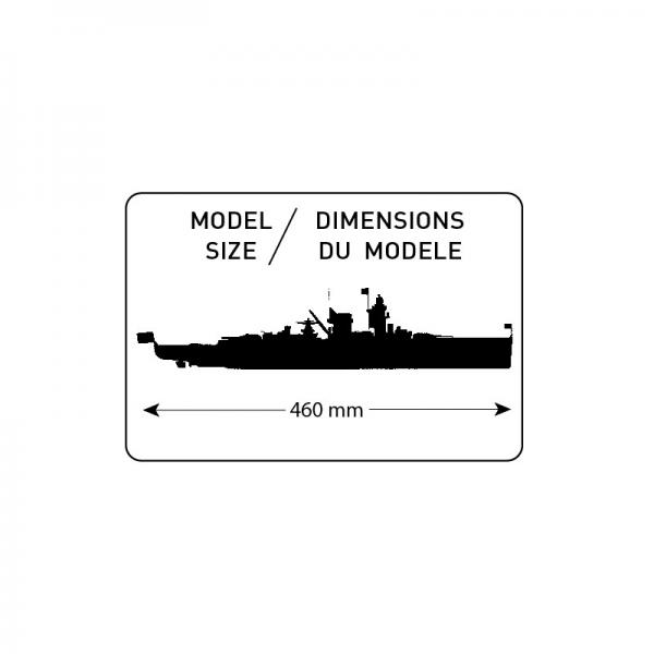 Heller 81046 Krążownik Graf Spee - 1:400