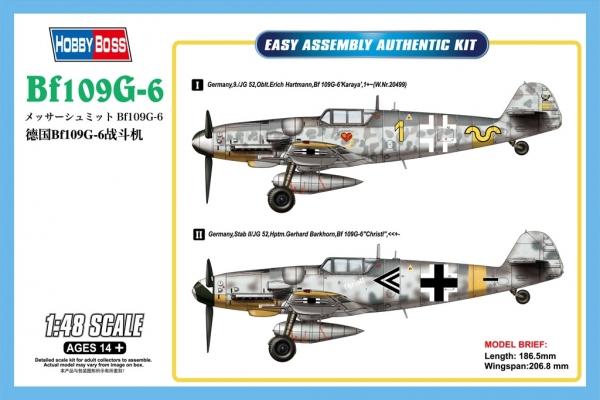 Hobby Boss 81751 Messerschmitt Bf109G-6 - 1:48