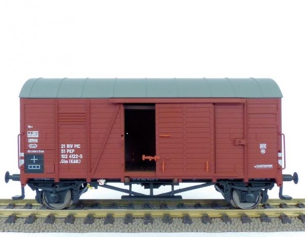 Exact-Train EX20762 Wagon towarowy kryty Oppeln .Glm (Kddt) 21 51 102 4122-5, PKP, Ep. IV