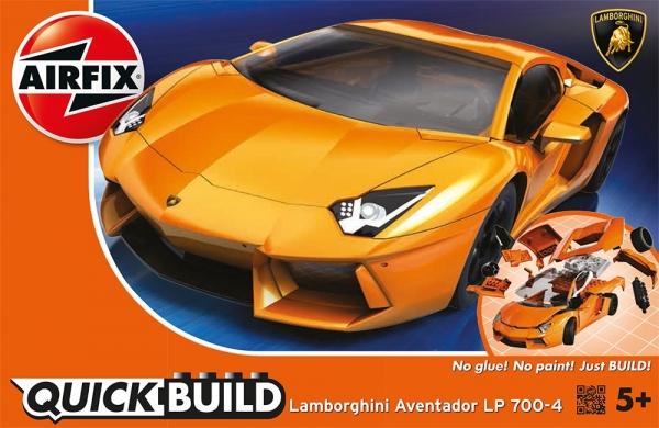 Airfix J6007 Quickbuild - Lamborghini Aventador LP700-4