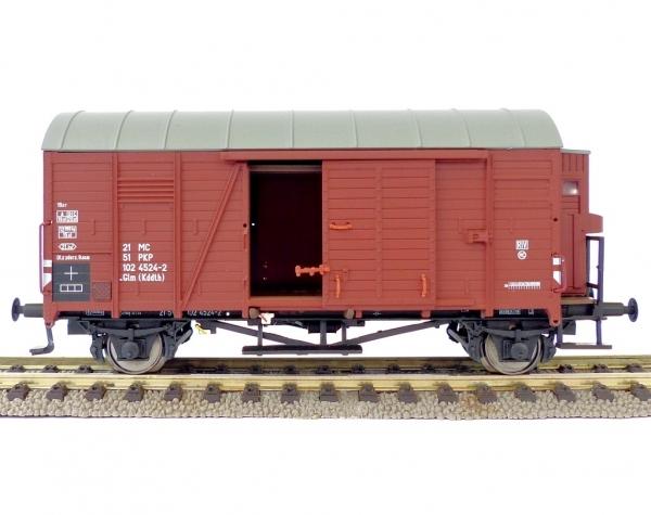 Exact-Train EX20288 Wagon towarowy kryty .Glm (Kddth), PKP, Ep. IV