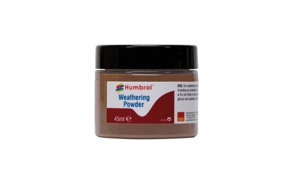 Humbrol AV0019 Pigment Weathering Powder 45 ml Dark Rust