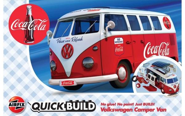 Airfix J6047 Quickbuild - Coca-Cola VW Camper Van