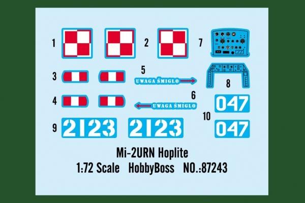 Hobby Boss 87243 Helikopter MI-2 URN Hoplite 1:72