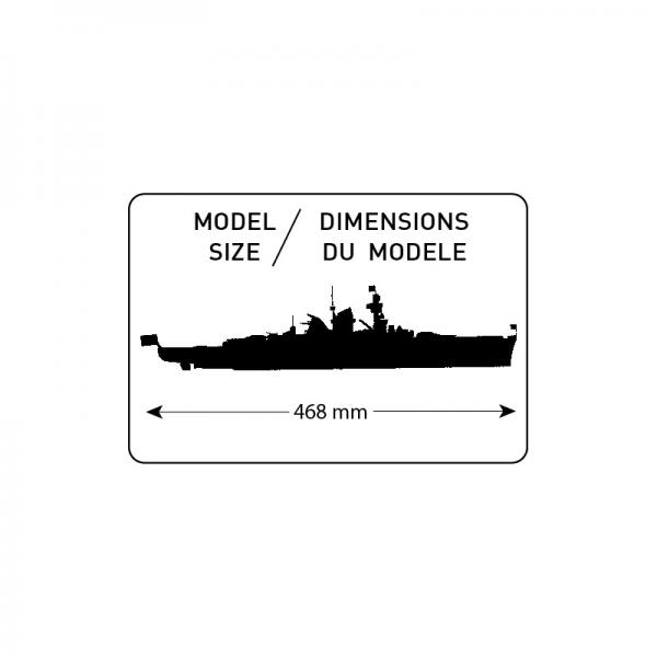 Heller 81045 Krążownik Admiral Sheer - 1:400