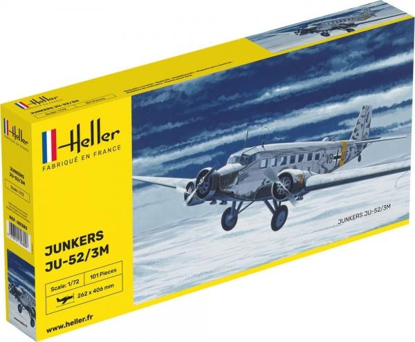 Heller 80380 Junkers JU 52 - 1:72