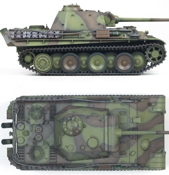 Academy 13523 Pz.Kpfw.V Panther Ausf.G Last Prod. 1:35