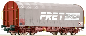 Roco 76443 Wagon towarowy plandekowy SNCF / FRET