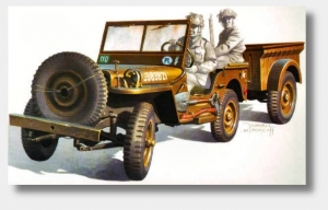SK Model 1114 Willys Jeep 1:35