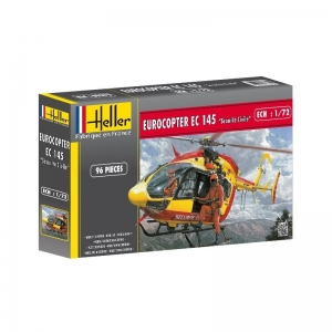 Heller 60375 Constructor Kit - Eurocopter EC 145 Securite Civile + podstawka - 1:72