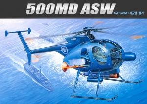 Academy 12251 Hughes 500 MD ASW 1:48