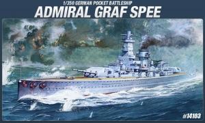 Academy 14103 Admiral Graf Spee