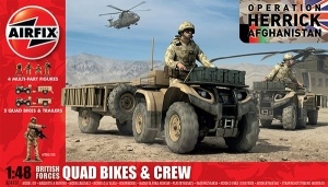 Airfix A04701 British Quad Bikes and Crew 1:48