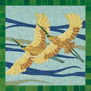 Aedes Ars 5501 Mozaika 300x300 mm - Ptaki