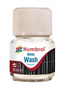 Humbrol AV0202 Enamel Wash White 28ml