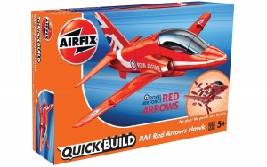 Airfix J6018 Quickbuild - RAF Red Arrow Hawk