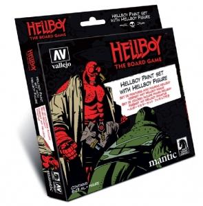 Vallejo 70187 Zestaw Model Color 8 farb + figurka Hellboy
