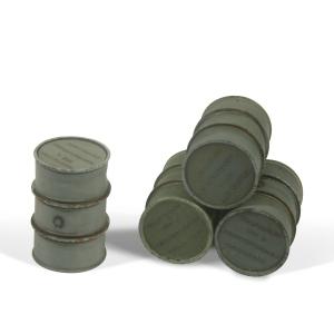 Vallejo SC205 Diorama Accessories Beczki Wehrmacht na paliwo 1:35