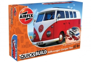 Airfix J6017 Quickbuild - VW Camper Van - Red