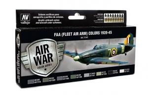 Vallejo 71147 Zestaw Air War 8 farb - FAA (Fleet Air Arm) Colors 1939-1945