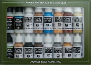 Vallejo 70102 Zestaw Model Color 16 farb - Folkstone Specialist