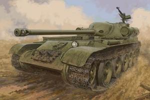 Trumpeter 09570 Radziecki niszczyciel czołgów SU-102 - 1:35