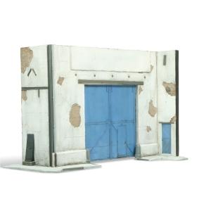 Vallejo SC107 Diorama Brama z fragmentem ściany 1:35