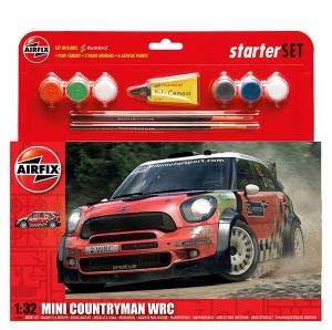 Airfix A55304 Starter Set - Mini Countryman WRC - 1:32