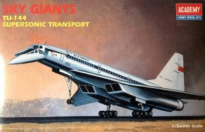 Academy 1699 TU-144 Supersonic