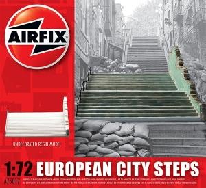 Airfix A75017 Ruiny budynku WWII - Schody - Europa - 1:72