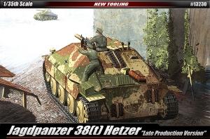 Academy 13230 Jagdpanzer 38(t) Hetzer Late Version 1:35