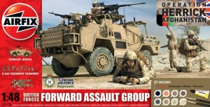 Airfix A50124 Gift Set - British Army Forward Assault Group 1:48