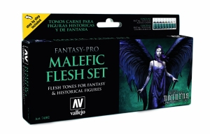 Vallejo 74102 Zestaw Game Color 8 farb - Malefic Flesh