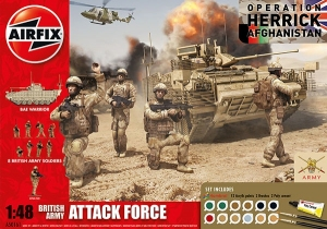 Airfix A50161 Gift Set - British Army Attack Force 1:48