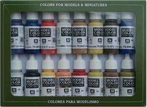 Vallejo 70147 Zestaw Model Color 16 farb - American Colonial