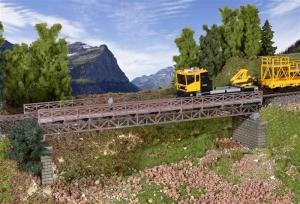 Kibri 39707 Most stalowy jednotorowy