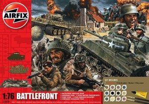 Airfix A50009 Gift Set - D-Day 75th Anniversary Battlefront - 1:76