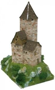 Aedes Ars 1303 Dom z wieżą 1:87